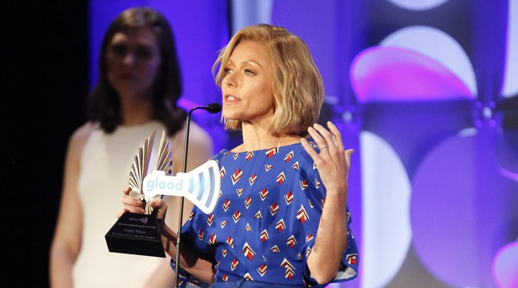 Kelly Ripa GLAAD Awards