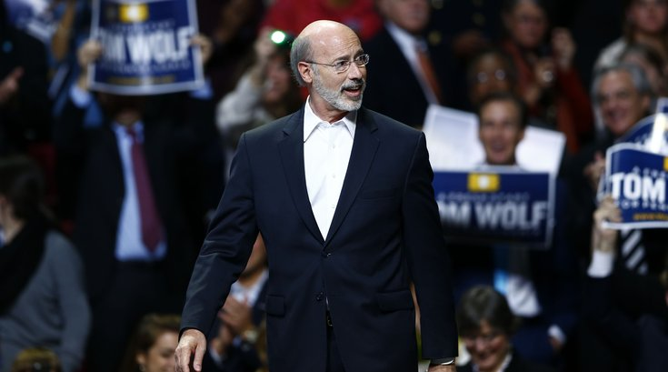 Tom Wolf's Inauguration Day