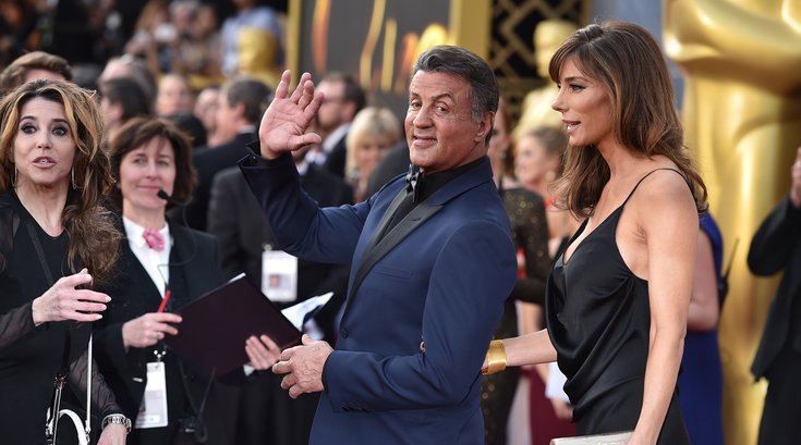 Stallone at the Academy Awards