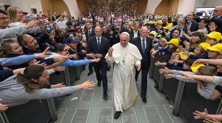 Pope Francis Mural