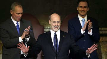 Governor Tom Wolf delivers budget address