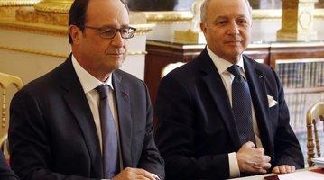 France President Francois Hollande
