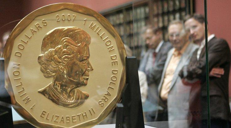 Big Maple Leaf gold coin stolen