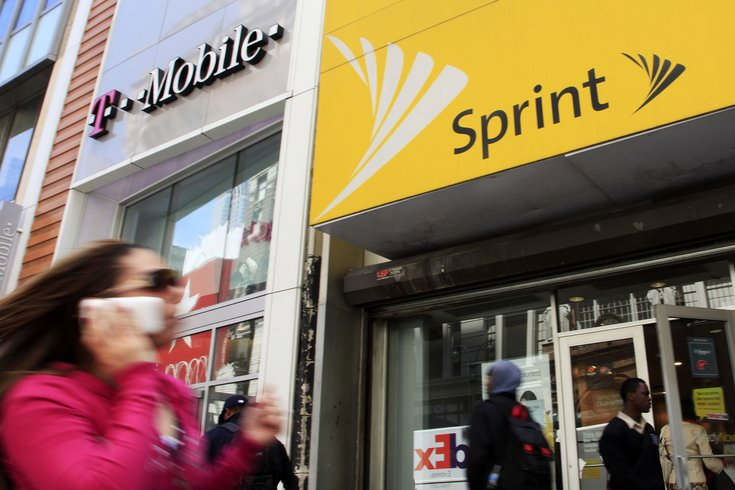 Sprint and T-mobile stores AP
