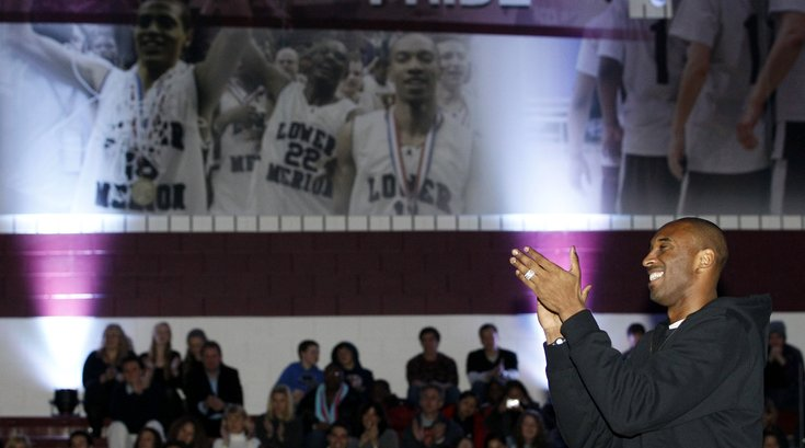 Kobe Bryant stolen jersey lower merion