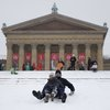Sledding Philadelphia