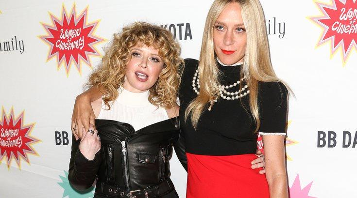 Natasha Lyonne, left, and Chloë Sevigny