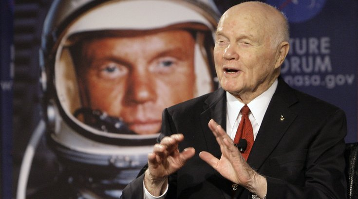 John glenn astronaut obit