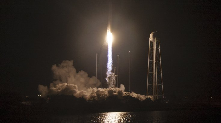 Antares launch, file