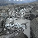 glacier melting river piracy