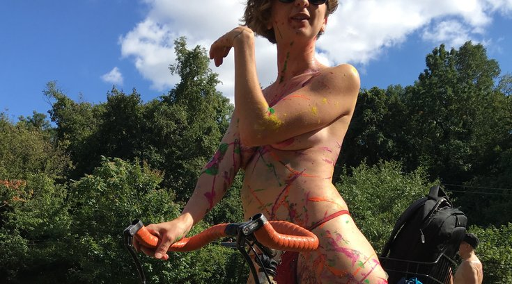 Philly Naked Bike Ride 2017