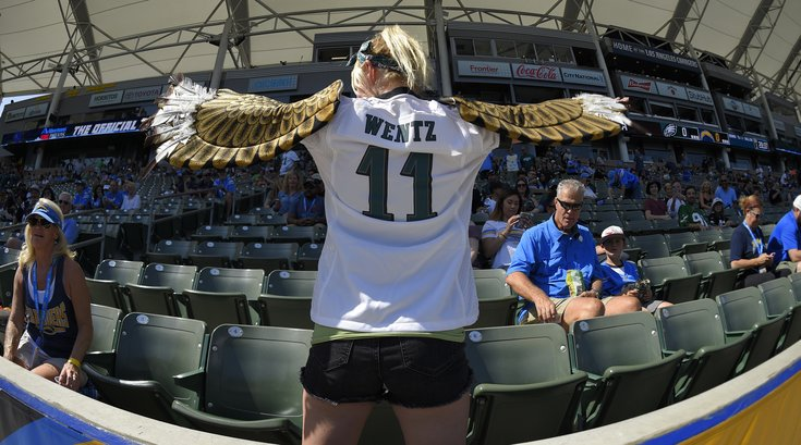 Eagles Fan Wentz Jersey