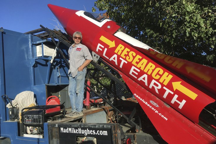 flat earth rocket