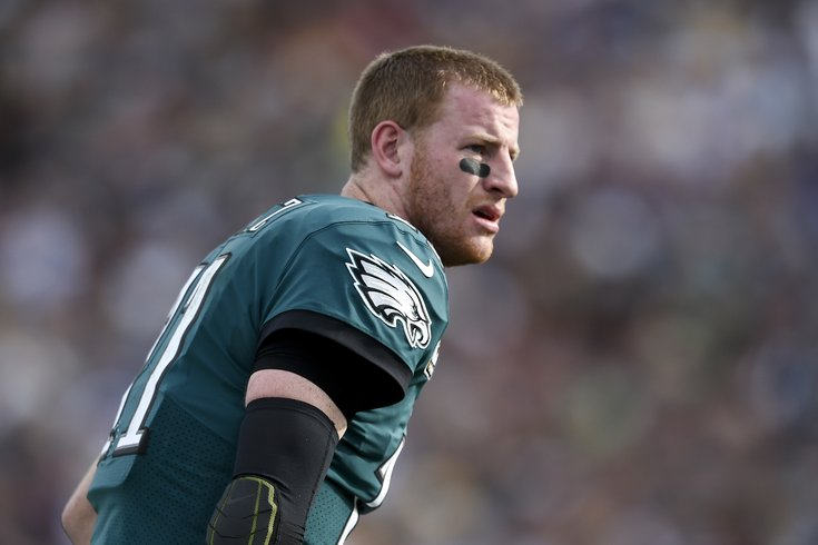 Carson Wentz out as QB for rest of season