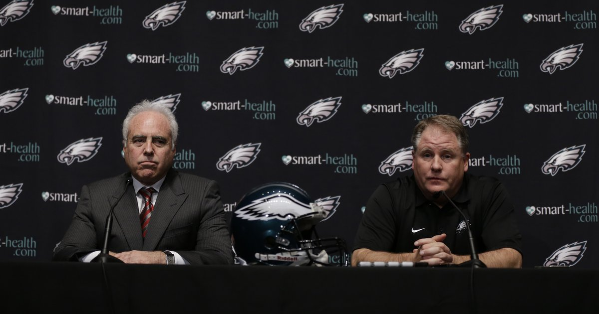 Jeffrey Lurie was right to release Chip Kelly PhillyVoice : AP5646418730601a563ffaffill 1200x630 c0 from www.phillyvoice.com size 1200 x 630 jpeg 184kB