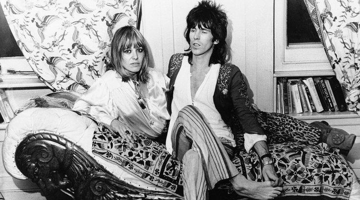 ANITA PALLENBERG Rolling Stones