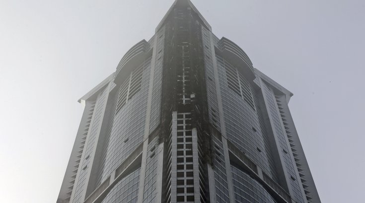 Torch Tower fire