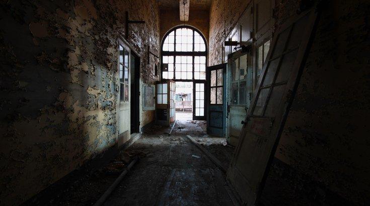 Abandoned NJ Power plant