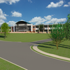 Abington High School rendering.