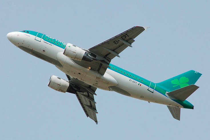 Aer Lingus launches direct flight from Philly to Ireland