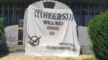 Anti-Semitic message
