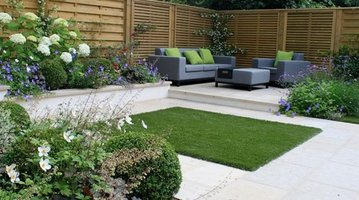 Houzz - Hampstead Small Garden