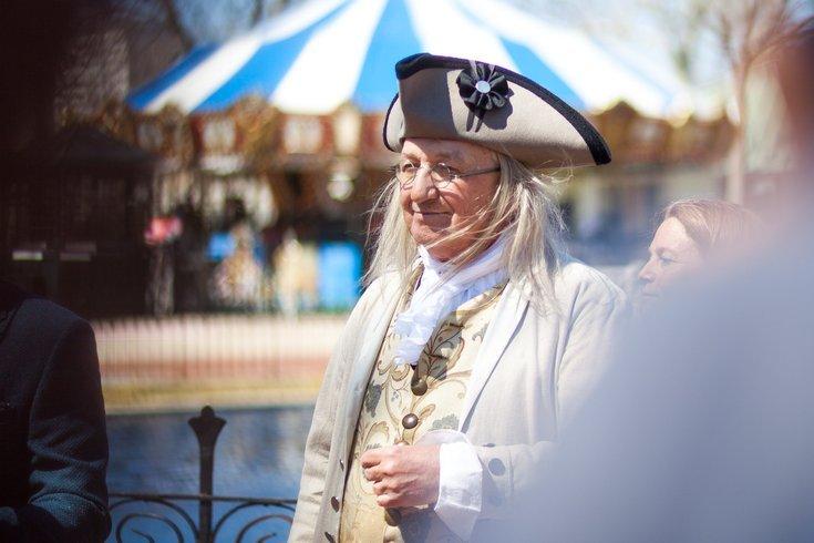 Benjamin Franklin impersonator