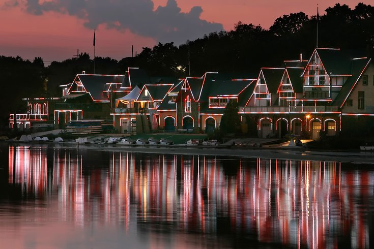 Boathouse Row lights