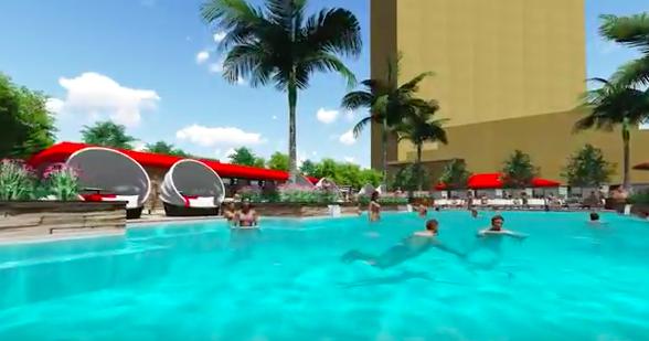 Borgata reveals flashy 50 million plan for property for Borgata outdoor pool
