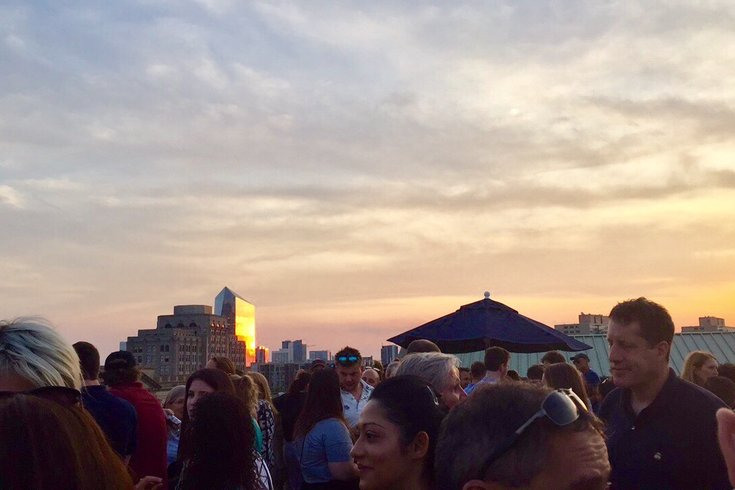 Brews & Views at Free Library
