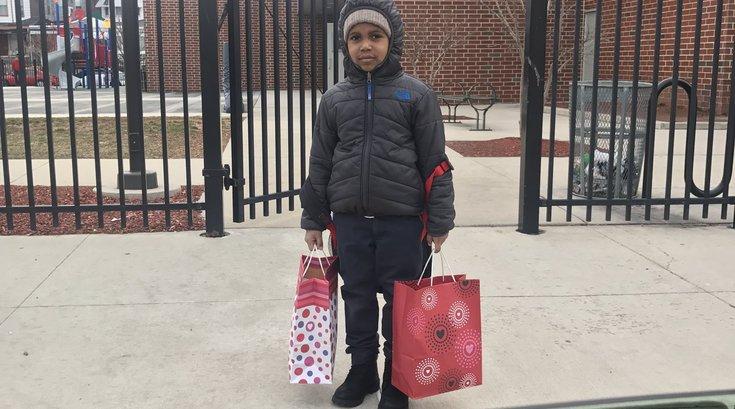 Twitter Valentine's Kid West Philly