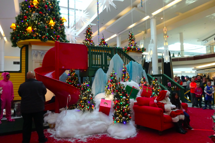 Christmas Story Experience at Cherry Hill Mall