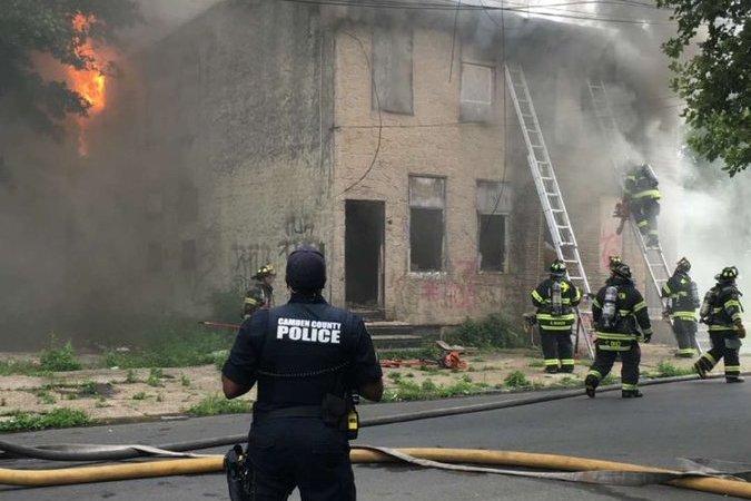 Camden arson