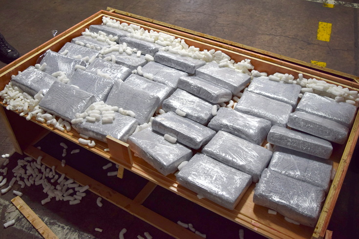 Customs officers in Pa. seize $22M in cocaine hidden in furniture