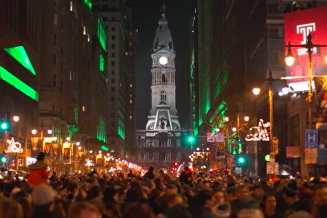 Cory Popp - Super Bowl celebration