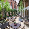 Outdoor courtyard at The Rittenhouse