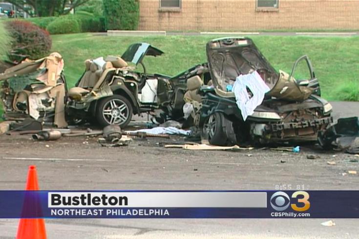 cbsphillytwitter the fatal crash