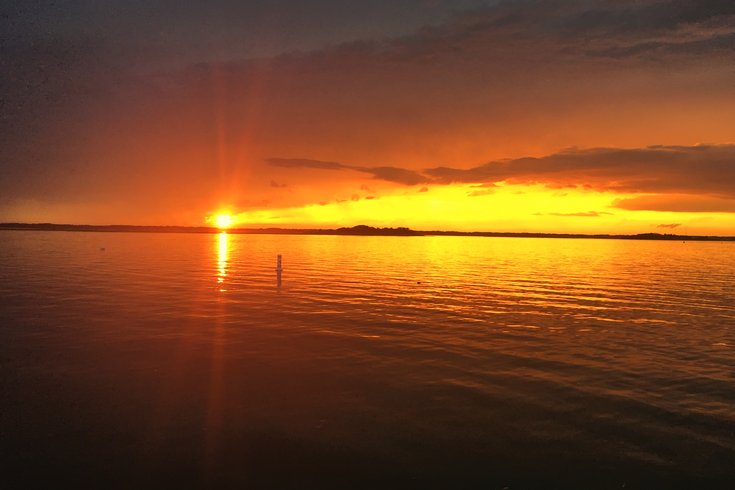 Wildwood Crest sunset