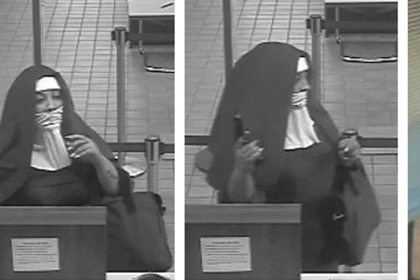 Nun bank robbers