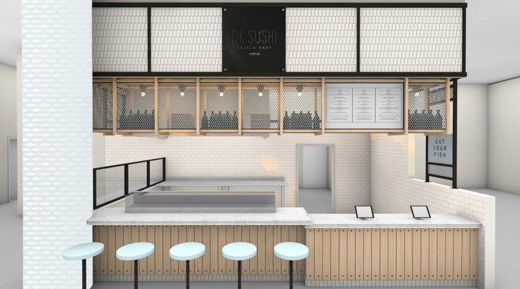 DK Sushi rendering