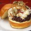 Nick's Bar and Grille burger