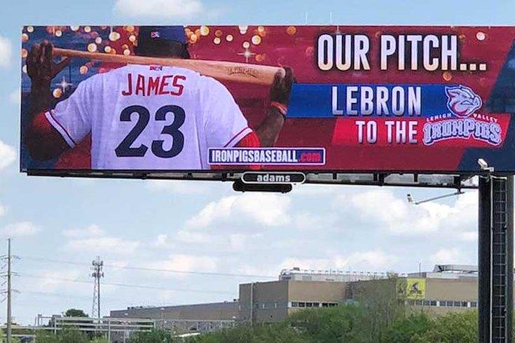LeBron James IronPigs