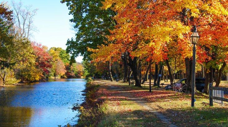 Lehigh Valley fall foliage