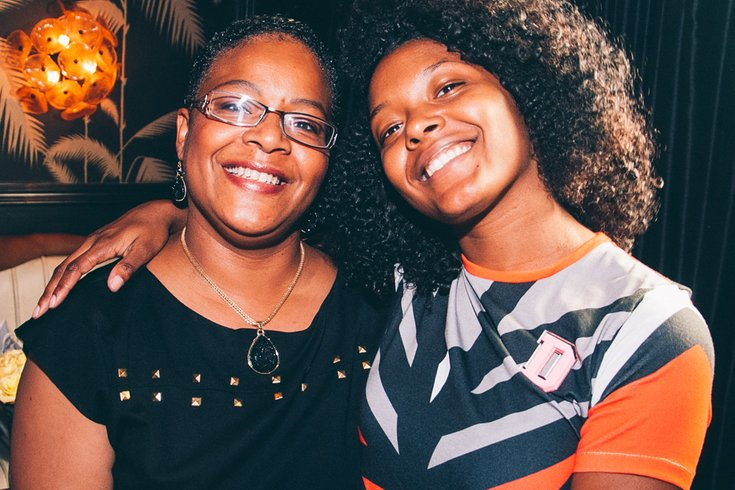 Dom Streater and her mother