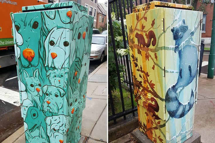 See The Vinyl Wrapped Electric Boxes Sprucing Up