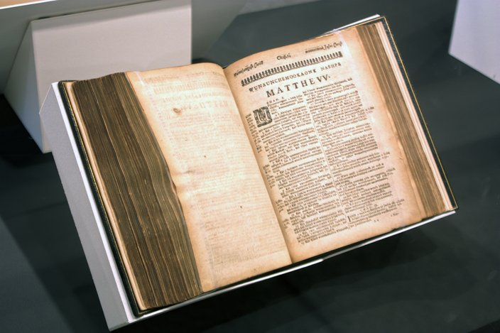 Penn Museum Eliot Bible
