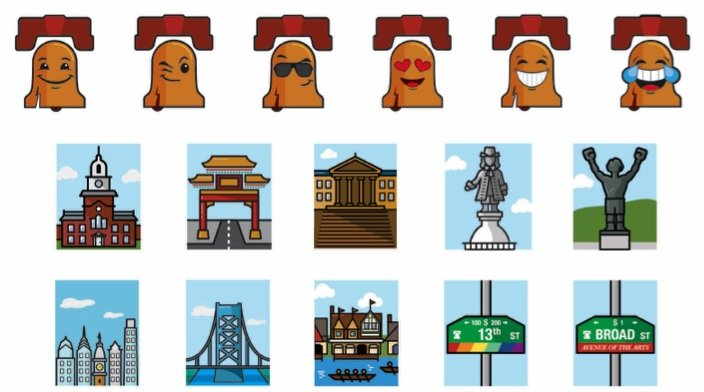 Visit Philly emoji