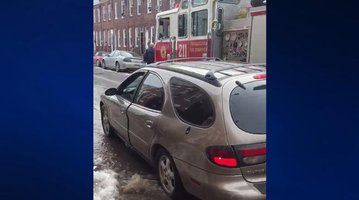 Water Main Break Port Richmond