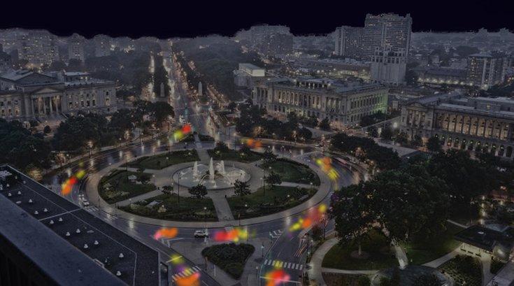 'Fireflies' Benjamin Franklin Parkway
