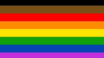 New Philly LGBTQ flag